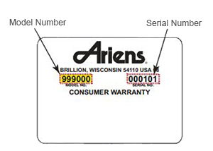 ariens model number sticker ariens a22h46 wiring diagram echo wiring diagram, tecumseh wiring  at aneh.co