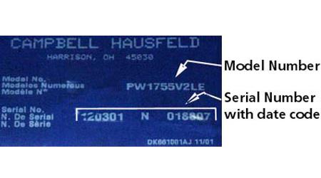 Campbell Hausfeld Pressure Washers
