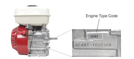Honda Engine Type Code