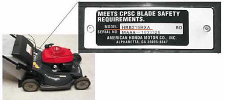 Honda Lawn Mower Model Locator