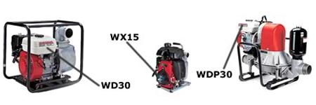 Honda Water Pump Model Locator