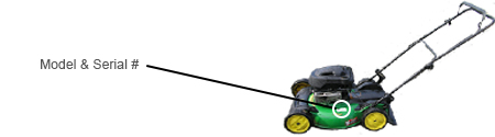 John Deere Lawn Mower Model Locator