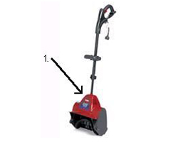 Toro Power Shovel Model Locator