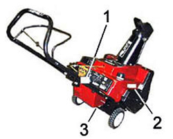 Toro Single Stage Snow Blower Model Locator