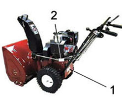 Toro Two Stage Snow Blower Model Locator