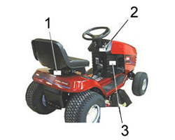 Toro Riding Mower Mower / Tractor Model Locator