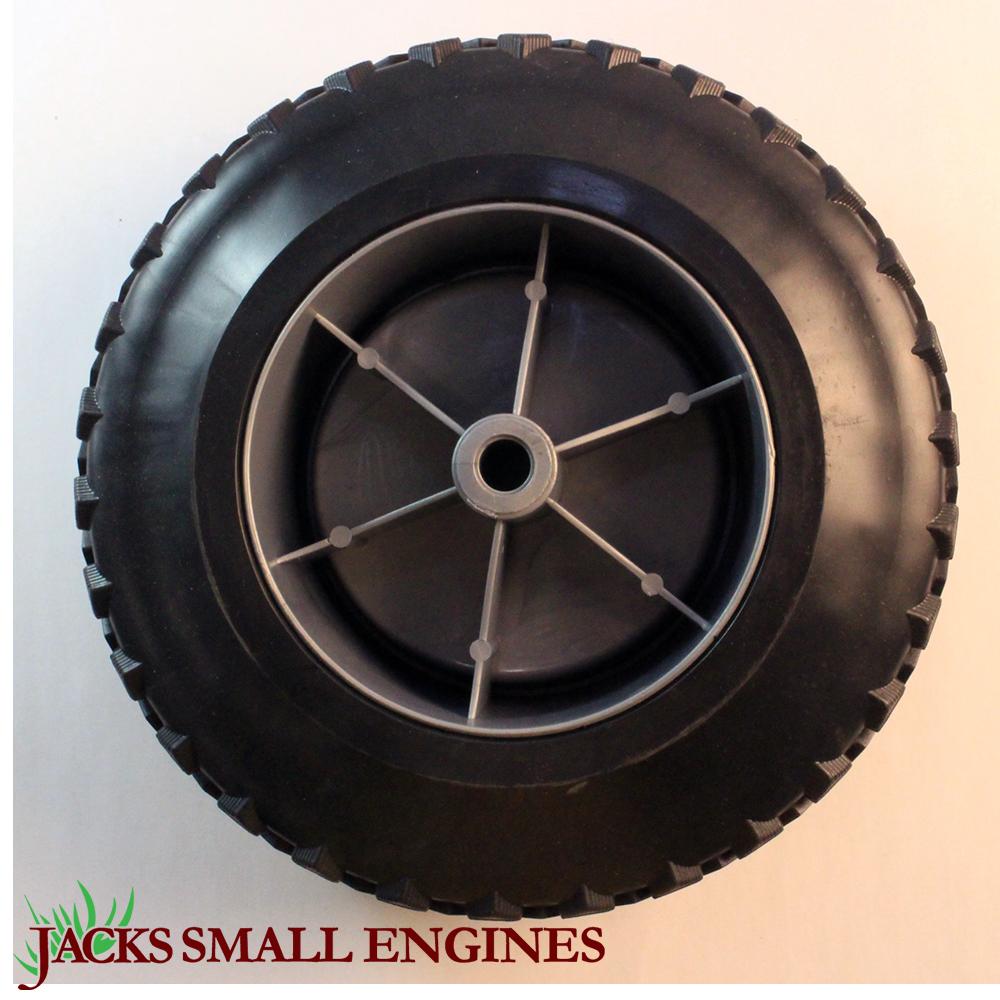Generac 0g8651 Plastic Wheel 9 5 Inch Diameter Jacks