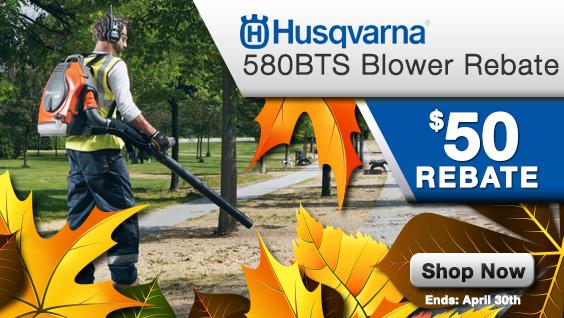 580BTS Blower Rebate