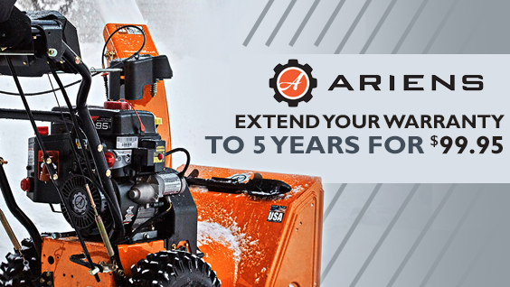 Ariens Snow Blower Extended Warranty