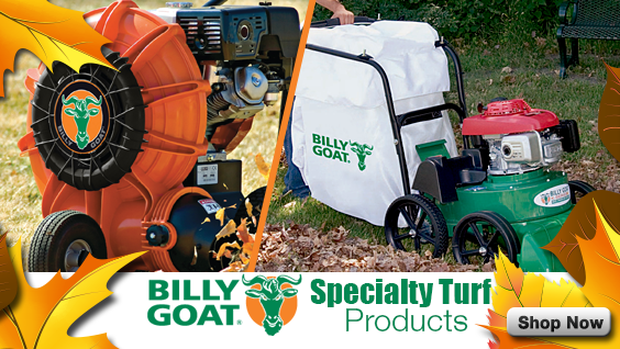 Billy Goat Turf Equipment