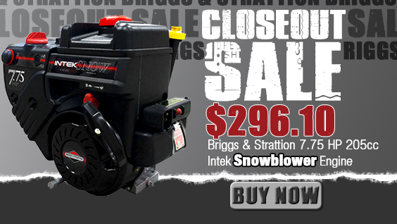 Closeout Engine Sale
