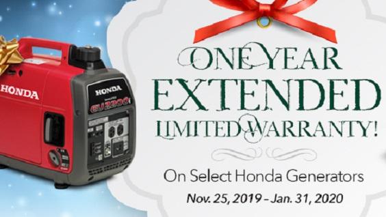 Honda Generator Extended Warranty