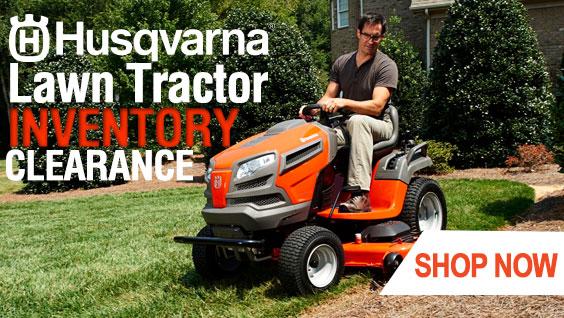 Husqvarna Tractor Clearance