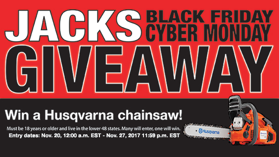 jacks black friday cyber monday giveaway lawn mower parts small engine parts jacks small engines  at alyssarenee.co