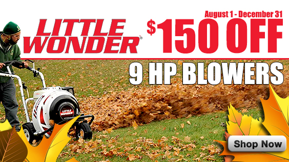 Little Wonder 9HP Blower sale