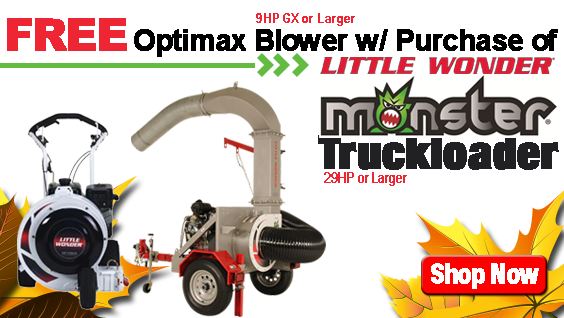 Little Wonder Free Blower with Truckloader Purchase
