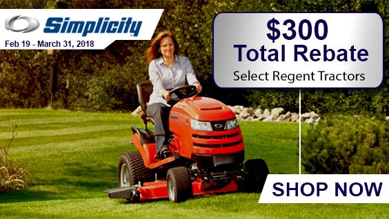 Simplicity Tractor Rebates