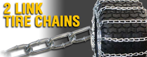 Universal - Tire Chains - Twist Link - 2 Link Tire Chains