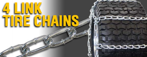 Universal - Tire Chains - Twist Link - 4 Link Tire Chains