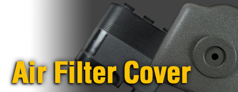 Red Max Air Filter Cover Parts