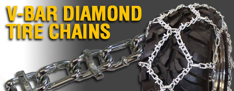 Universal - Tire Chains - ATV V Bar Diamond Tire Chain
