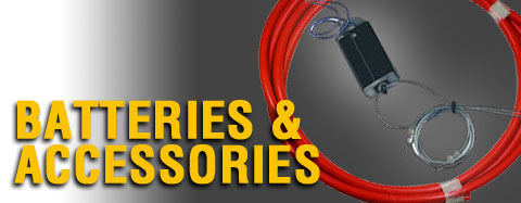 Universal - Batteries And Accessories - RED BATTERY CABLE