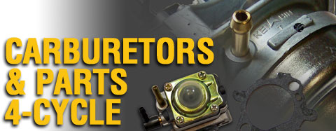 Briggs and Stratton - Carburetors and Parts - 4-Cycle - Carburetors