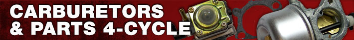 Carburetors and Parts - 4-Cycle Parts