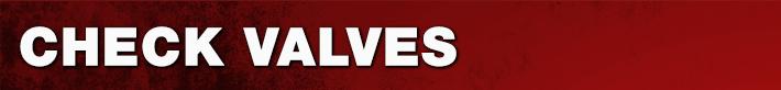 Check Valves Parts
