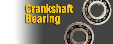 Makita - Cylinder Assemblies and Parts - Crankshaft Bearing