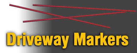 Universal Driveway Marker Parts