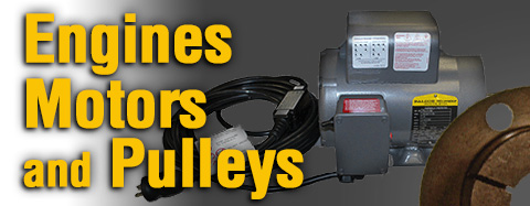 Universal - Engines Motors and Pulleys - H Bushings