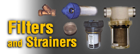 Universal - Filters and Strainers - Blue Top Water Filter