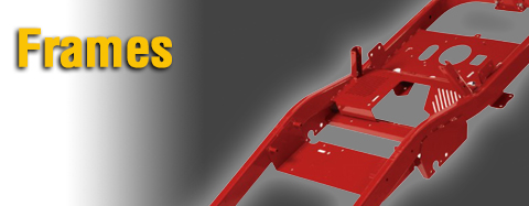 Yard Machines Frames Parts