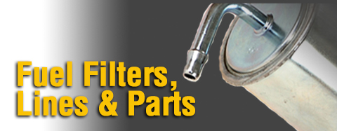 Tecumseh - Fuel Filters, Lines, Parts - Fuel Filters