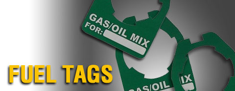 Universal - Gas Cans & Accessories - Fuel Tags