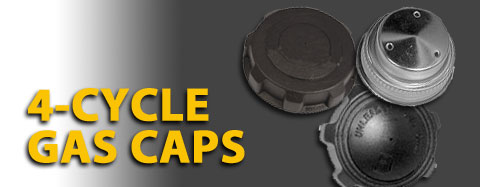 Dixie Chopper Gas Caps 4-Cycle Parts