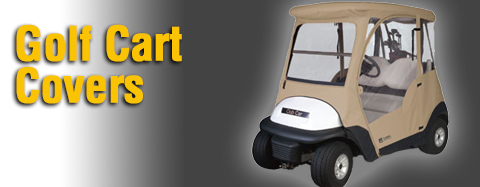 Universal - Golf Cart Covers - Golf Cart Covers
