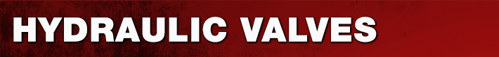 Hydraulic Valves Parts