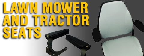 Gilson Lawn Mower Seats & Tractor Seats Parts