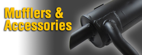 Kohler - Mufflers & Accessories - Muffler Kits