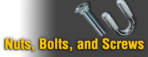 Toro Nuts, Bolts & Screws Parts