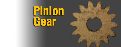 Toro Pinion Gear Parts