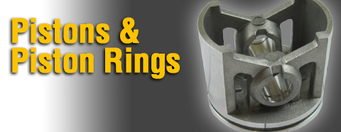 Poulan - Pistons & Piston Rings - Piston Kits