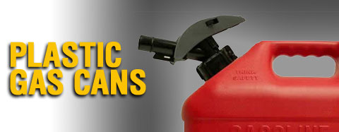 Universal - Gas Cans & Accessories - Plastic Gas Cans