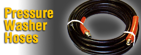 Universal - Pressure Washer Hoses - High Pressure Hose By The Foot