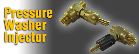 MTM Hydro Pressure Washer Injector Parts
