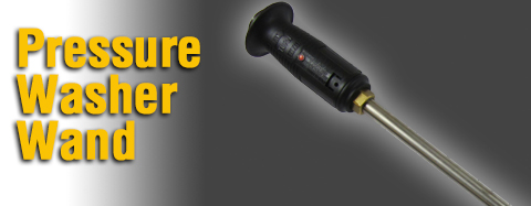 Universal - Pressure Washer Wand - Molded Grip Wand