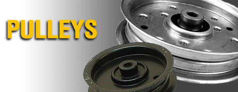 "Universal - Pulleys - Steel V-Belt Pulley (For 1/2"" Belts)"