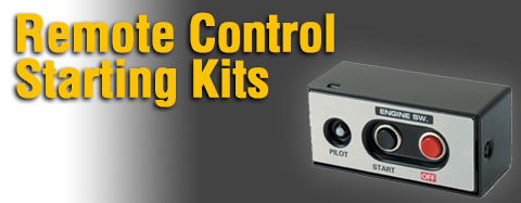 Honda Remote Control Starting Kits Parts